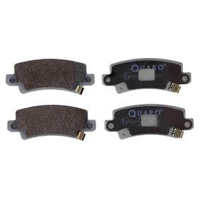 Bremsbelagsatz, Scheibenbremse Breite: 95,5mm, Höhe: 37,9mm, Dicke/Stärke: 15,8mm mit OEM-Nummer 0446602020