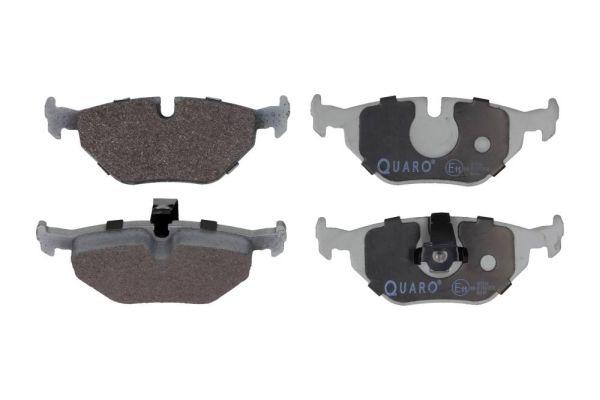 QUARO  QP2514 Bremsbelagsatz, Scheibenbremse Breite 1: 123,2mm, Breite 2: 122mm, Höhe 1: 45mm, Höhe 2: 45mm, Dicke/Stärke: 17,3mm