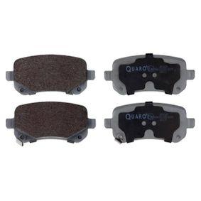 Bremsbelagsatz, Scheibenbremse Breite: 116,8mm, Höhe: 52,7mm, Dicke/Stärke: 17mm mit OEM-Nummer 68029887AA