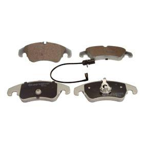Bremsbelagsatz, Scheibenbremse Breite: 188mm, Höhe: 72,9mm, Dicke/Stärke: 19,4mm mit OEM-Nummer 8R0 698 151 A
