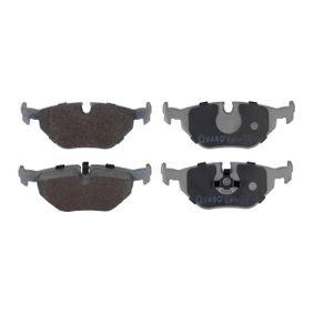 Bremsbelagsatz, Scheibenbremse Breite: 123mm, Höhe: 45,3mm, Dicke/Stärke: 17,3mm mit OEM-Nummer 34211160341