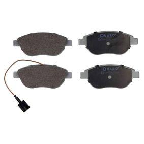 Bremsbelagsatz, Scheibenbremse Breite: 137mm, Höhe: 57,4mm, Dicke/Stärke: 19,0mm mit OEM-Nummer 7736271-2
