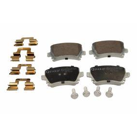 Bremsbelagsatz, Scheibenbremse Breite: 105,5mm, Höhe: 56,3mm, Dicke/Stärke: 17,2mm mit OEM-Nummer 3C0 698 451 A