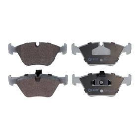Bremsbelagsatz, Scheibenbremse Breite 1: 155,3mm, Breite 2: 156,5mm, Höhe: 63,9mm, Dicke/Stärke: 20,3mm mit OEM-Nummer 3411 1 163 387