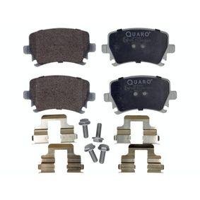 Bremsbelagsatz, Scheibenbremse Breite: 105,5mm, Höhe: 56,5mm, Dicke/Stärke: 17,2mm mit OEM-Nummer 1K0-698-451-D
