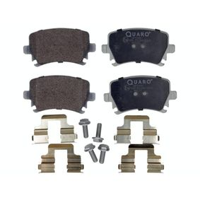 Bremsbelagsatz, Scheibenbremse Breite: 105,5mm, Höhe: 55,9mm, Dicke/Stärke: 17,2mm mit OEM-Nummer 4F0 698 451B