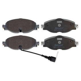 Kit de plaquettes de frein, frein à disque Largeur: 160,2mm, Hauteur: 64,5mm, Épaisseur: 20,3mm avec OEM numéro 8V0698151D