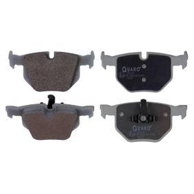 Brake Pad Set, disc brake Rear Axle QP6199