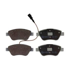 Bremsbelagsatz, Scheibenbremse Breite: 122,9mm, Höhe: 53,3mm, Dicke/Stärke: 17,8mm mit OEM-Nummer 7 736 489 3