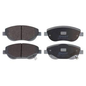 Bremsbelagsatz, Scheibenbremse Breite: 150,9mm, Höhe: 61mm, Dicke/Stärke: 19,3mm mit OEM-Nummer 0446505260