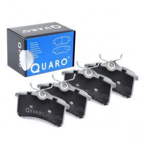 QUARO Jogo de pastilhas para travão de disco QP7107 com códigos OEM 8E0698451D