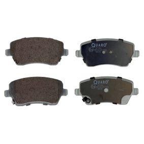 Bremsbelagsatz, Scheibenbremse Breite: 116,5mm, Höhe: 51,9mm, Dicke/Stärke: 17,3mm mit OEM-Nummer 41060 AX625