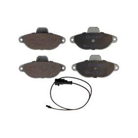 Brake Pad Set, disc brake QP7932 PANDA (169) 1.2 MY 2004