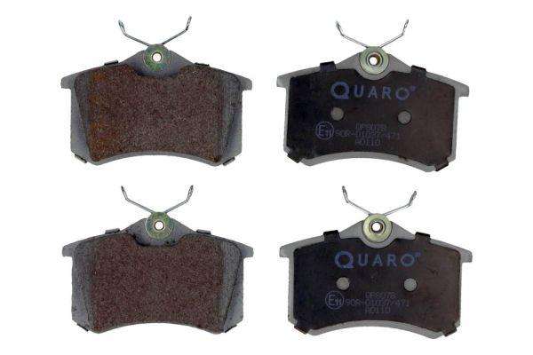 QUARO  QP8078 Bremsbelagsatz, Scheibenbremse Breite: 87mm, Höhe: 53mm, Dicke/Stärke: 17,2mm