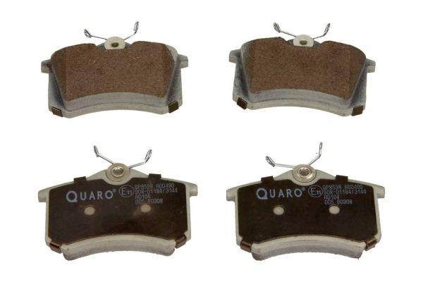 QUARO  QP8538 Bremsbelagsatz, Scheibenbremse Breite: 87mm, Höhe: 53mm, Dicke/Stärke: 16,2mm