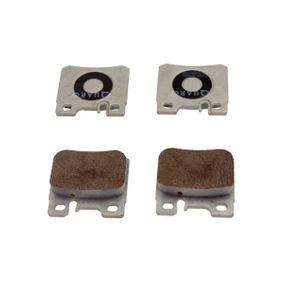 Bremsbelagsatz, Scheibenbremse Breite: 62,6mm, Höhe: 58,5mm, Dicke/Stärke: 15mm mit OEM-Nummer A0014209520