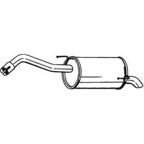 Nissan Note e11 1.5dCi Endschalldämpfer BOSAL 145-143 (1.5 dCi Diesel 2009 K9K 276)