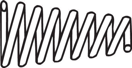 Feder, Abgasrohr 251-001 BOSAL 251-001 in Original Qualität