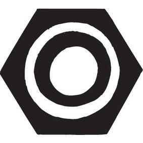 Mutter, Abgaskrümmer 258-040 Golf 4 Cabrio (1E7) 1.6 Bj 2001