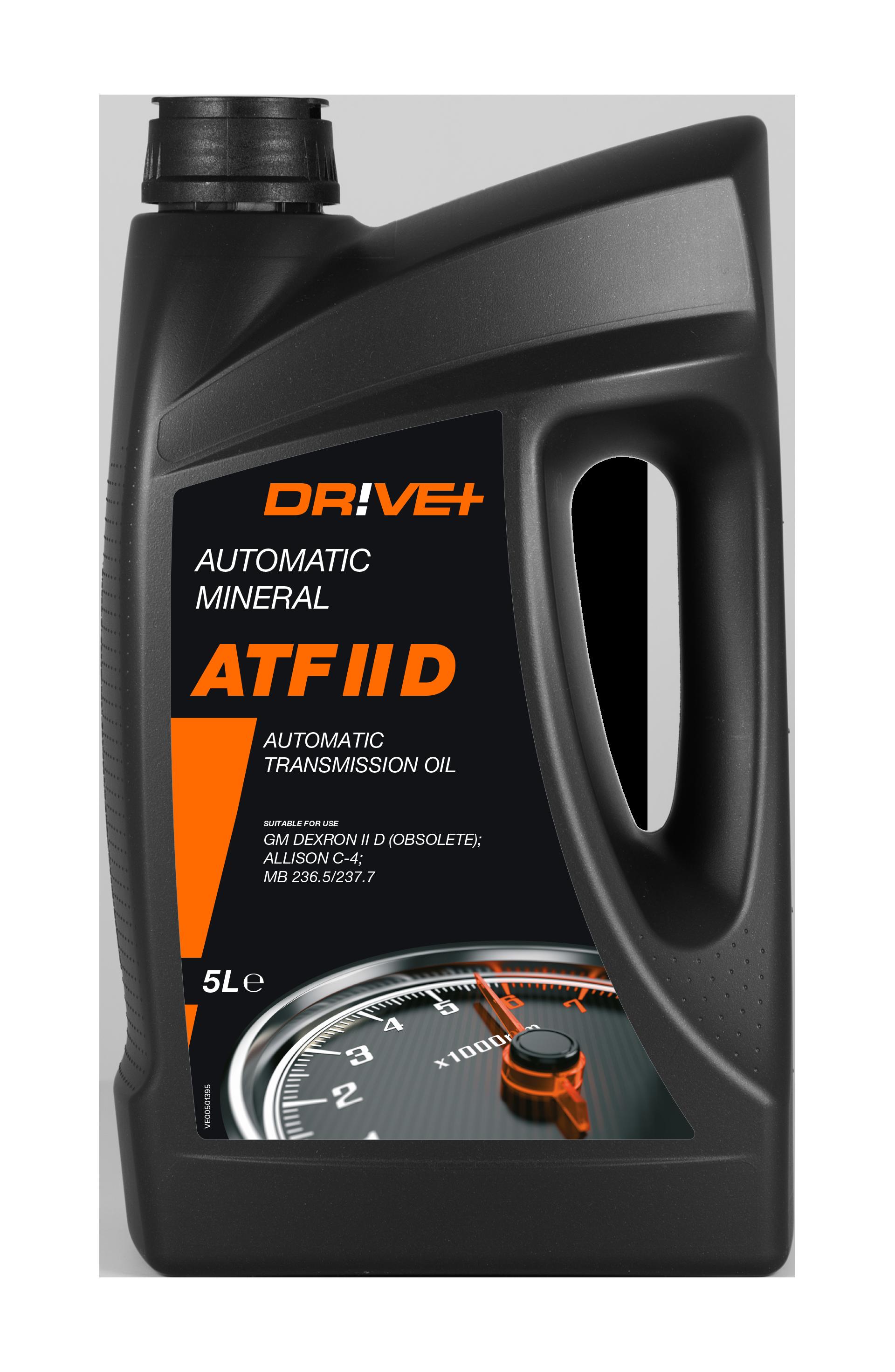 Dr!ve+  DP3310.10.088 Hydrauliköl Inhalt: 5l, GM Dexron II D, Ford MERCON, ZF TE-ML 09/11/14, Mercedes Benz 236.1/, Denison HF-0