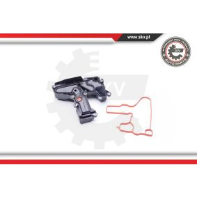 Oil Trap, crankcase breather with OEM Number 06H 103 495 A