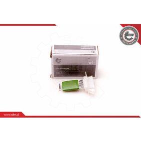 Resistor, interior blower 94SKV051 PUNTO (188) 1.2 16V 80 MY 2002