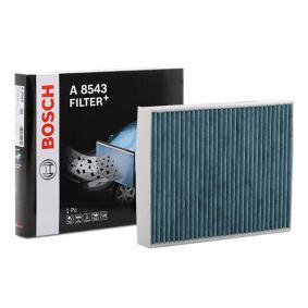 Filter, Innenraumluft Länge: 248mm, Breite: 198mm, Höhe: 41mm mit OEM-Nummer 6411 9 237 554