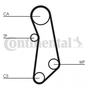 Water pump and timing belt kit Article № CT1114WP1 £ 140,00