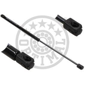 Muelle neumático, maletero / compartimento de carga Long. total: 585mm, Carrera: 248mm con OEM número 1Z5 827 550C