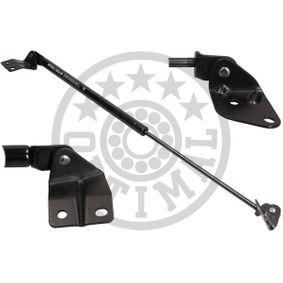 Heckklappendämpfer / Gasfeder Länge über Alles: 580mm, Hub: 290mm mit OEM-Nummer 81860-M70F1-0