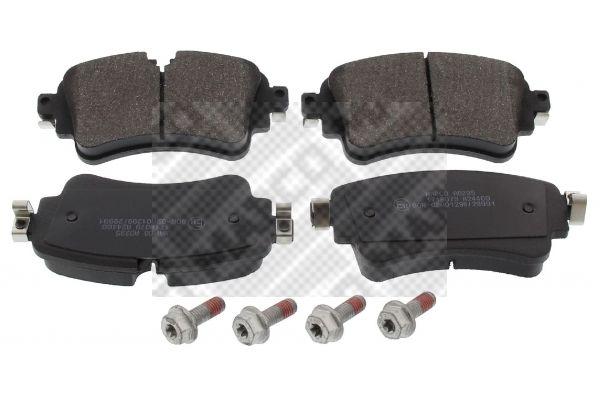 MAPCO  6690 Brake Pad Set, disc brake Width: 129,2mm, Height: 59,1mm, Thickness: 17,5mm