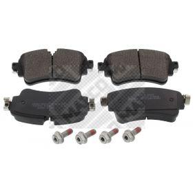 Kit de plaquettes de frein, frein à disque Hauteur: 59mm, Épaisseur: 18mm avec OEM numéro 8W0 698 451 N