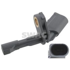 Sensor, Raddrehzahl Länge: 73mm mit OEM-Nummer 1K0927807A