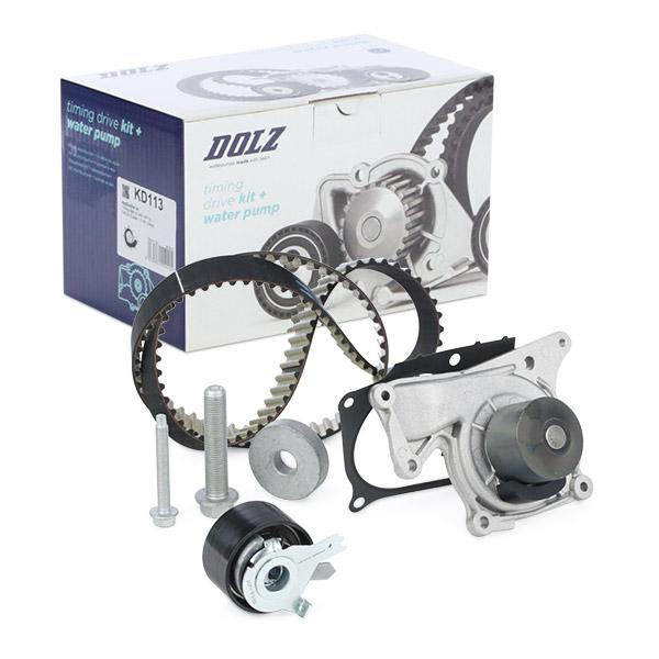 Timing belt and water pump kit DOLZ 05KD082 expert knowledge