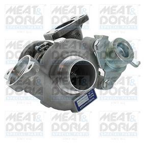 MEAT & DORIA Turbocompresor, sobrealimentación 65002 con OEM número 9657603780