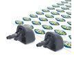 Tobera limpiaparabrisas RENAULT MEGANE 1 Classic (LA0/1) 2006 Año 13482459 SEIM delante
