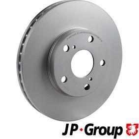 JP GROUP  4863102300 Bremsscheibe Bremsscheibendicke: 28mm, Lochanzahl: 5, Ø: 275mm