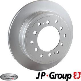 Disque de frein Épaisseur du disque de frein: 18mm, Nbre de trous: 6, Ø: 312mm avec OEM numéro 42431-60270
