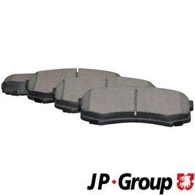 Bremsbelagsatz, Scheibenbremse Dicke/Stärke: 15,4mm mit OEM-Nummer 04492 60020