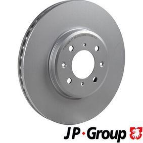 Спирачен диск дебелина на спирачния диск: 25мм, брой на дупките: 4, Ø: 282мм с ОЕМ-номер SDB000440
