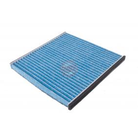 Filter, Innenraumluft Länge: 216mm, Breite: 215mm, Höhe: 20mm mit OEM-Nummer 88568 02020