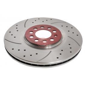 Bremsscheibe Bremsscheibendicke: 25mm, Lochanzahl: 5, Ø: 310mm mit OEM-Nummer 6R0 615 301 B
