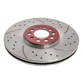Bremsscheibe Bremsscheibendicke: 25mm, Lochanzahl: 5, Ø: 310mm mit OEM-Nummer 6R0 615 301B