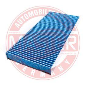 Filter, Innenraumluft Länge: 348mm, Breite: 162mm, Höhe: 30mm mit OEM-Nummer 1 062 253
