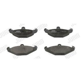 Bremsbelagsatz, Scheibenbremse Höhe 1: 59mm, Dicke/Stärke: 14,8mm mit OEM-Nummer 60 25 308 186