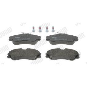 Bremsbelagsatz, Scheibenbremse Höhe 1: 56mm, Dicke/Stärke: 19mm mit OEM-Nummer E172536