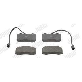 Bremsbelagsatz, Scheibenbremse Höhe 1: 69mm, Dicke/Stärke: 18mm mit OEM-Nummer 8904 7744