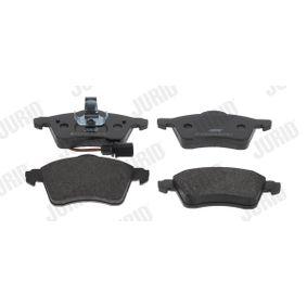 Bremsbelagsatz, Scheibenbremse Höhe 1: 68mm, Dicke/Stärke: 19,6mm mit OEM-Nummer 7D0698151F