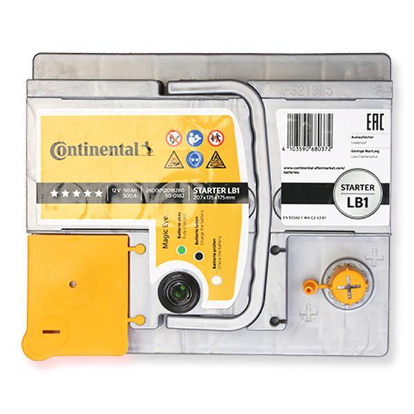 Continental Starter 2800012018280 Starter Battery