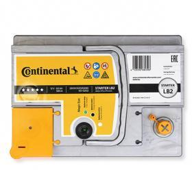 Starterbatterie Polanordnung: 0 mit OEM-Nummer 1672941
